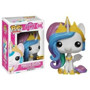 My Little Pony Pop! Vinyl Figures Glitter Princess Celestia [8]