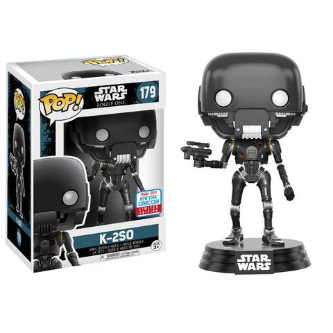 Star Wars Pop! Vinyl Action Pose K-2SO [Rogue One] [NYCC 2017 Exclusive] [179]