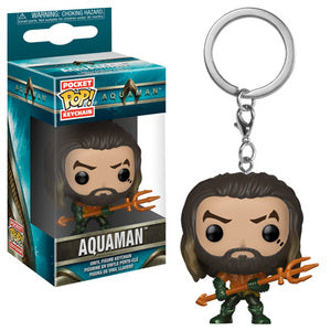 Aquaman Pocket Pop! Keychain Aquaman - Fugitive Toys