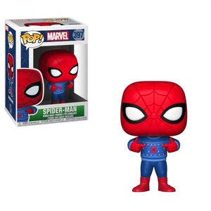 Marvel Pop! Vinyl Figure Spider-Man (Ugly Sweater) [397]