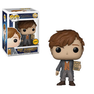 Fantastic Beasts Pop! Vinyl Figure Newt Scamander with Book (Chase) [14] - Fugitive Toys
