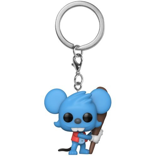 The Simpsons Pocket Pop! Keychain Itchy