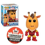 Ad Icons Pop! Vinyl Figure Geoffrey as Iron Man [29] - Fugitive Toys