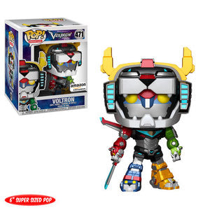"Voltron Legendary Defender Pop! Vinyl Figure Voltron 6"" (Metallic) [471]"