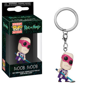 Rick and Morty Pocket Pop! Keychain Noob Noob - Fugitive Toys
