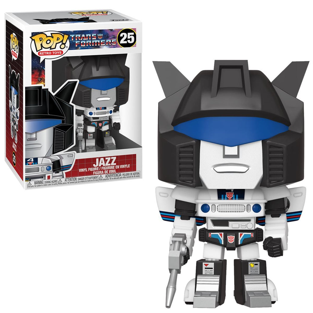 Transformers Retro Toys Pop! Vinyl Figure Jazz [25]