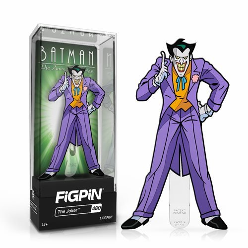 DC Batman The Animated Series: FiGPiN Enamel Pin The Joker [480]