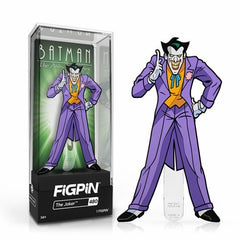 DC Batman The Animated Series: FiGPiN Enamel Pin The Joker [480] - Fugitive Toys