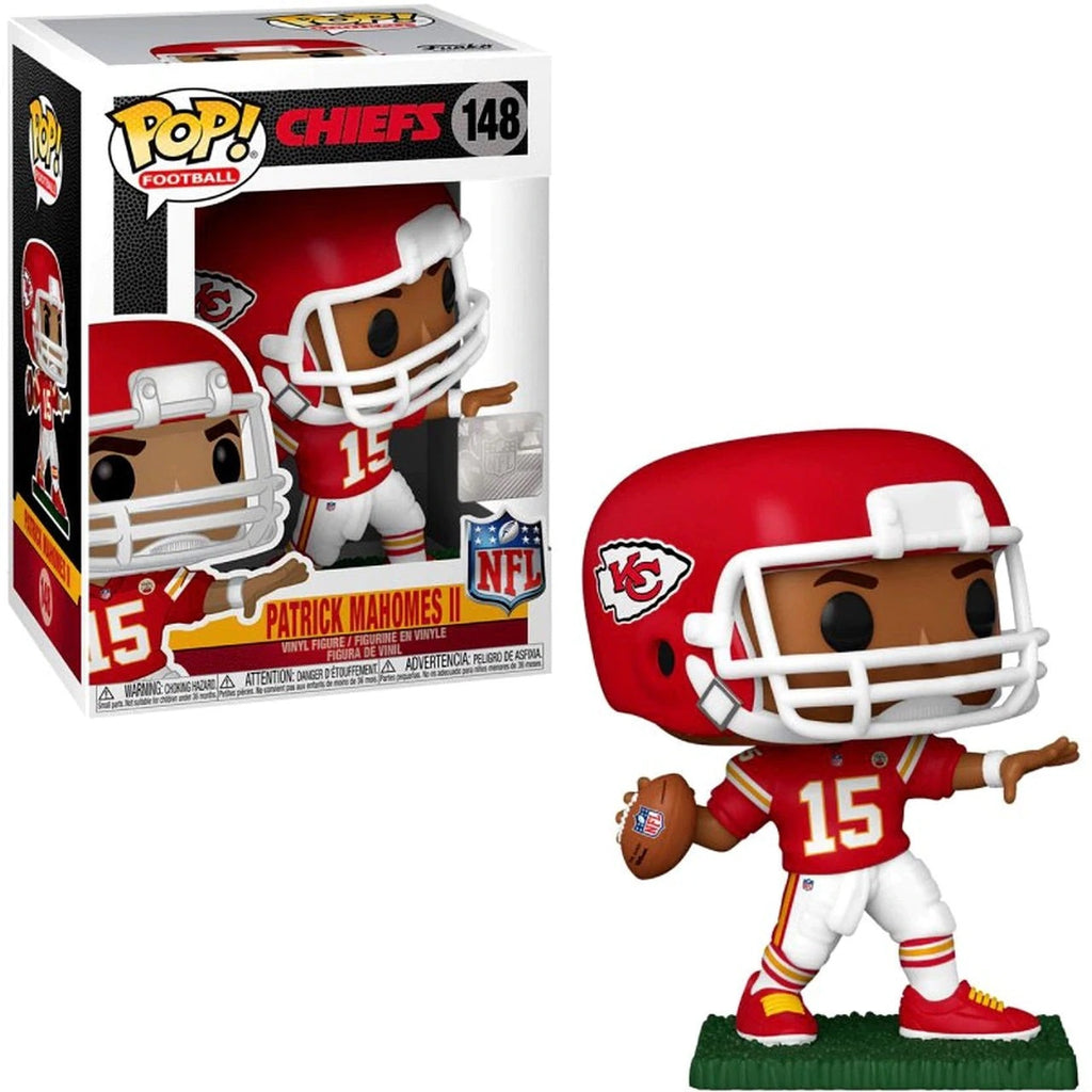 NFL Pop! Vinyl Figure Patrick Mahomes (Kansas City Chiefs) [148]