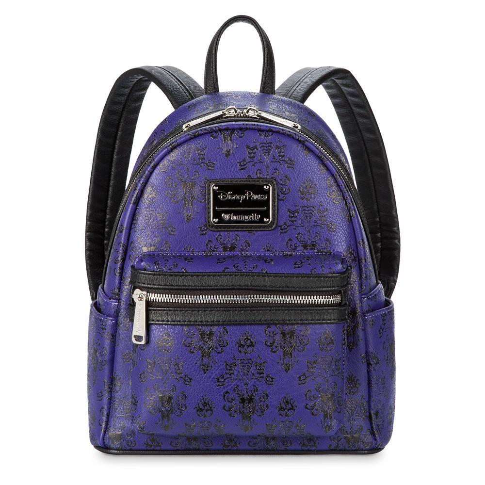 Loungefly x Disney Parks Haunted Mansion Wallpaper Mini Backpack