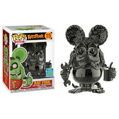 Icons Pop! Vinyl Figure Rat Fink (Black Chrome) (Summer 2019 Exclusive) [15]