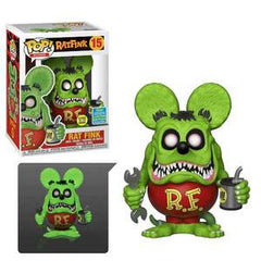 Icons Pop! Vinyl Figure Rat Fink (Glow in the Dark) (Summer 2019 Exclusive) [15]