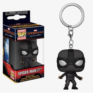 Spider-Man: Far From Home Pocket Pop! Keychain Spider-Man (Stealth Suit) - Fugitive Toys