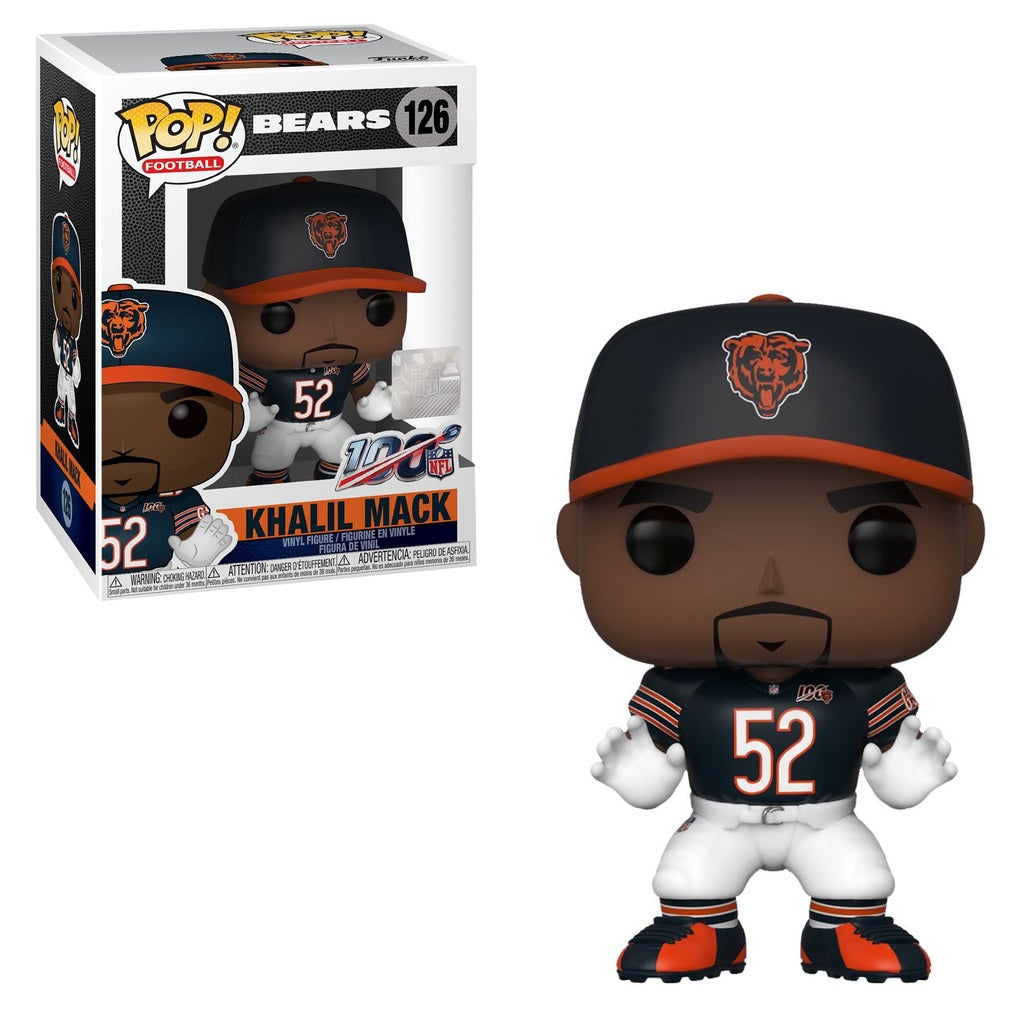 NFL Pop! Vinyl Figure Khalil Mack [Chicago Bears] [126]