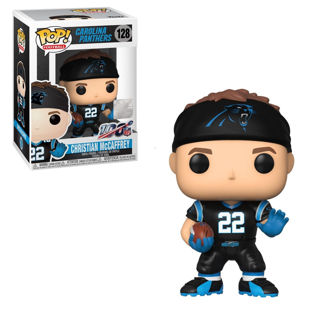 NFL Pop! Vinyl Figure Christian McCaffrey [Carolina Panthers] [128]