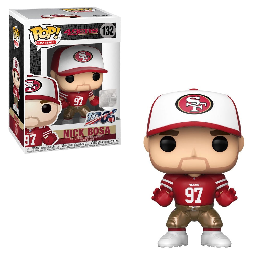NFL Pop! Vinyl Figure Nick Bosa (Home Jersey) [San Francisco 49ers] [132]
