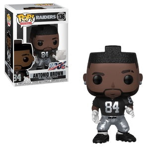 NFL Pop! Vinyl Figure Antonio Brown (Home Jersey) [Oakland Raiders] [136]