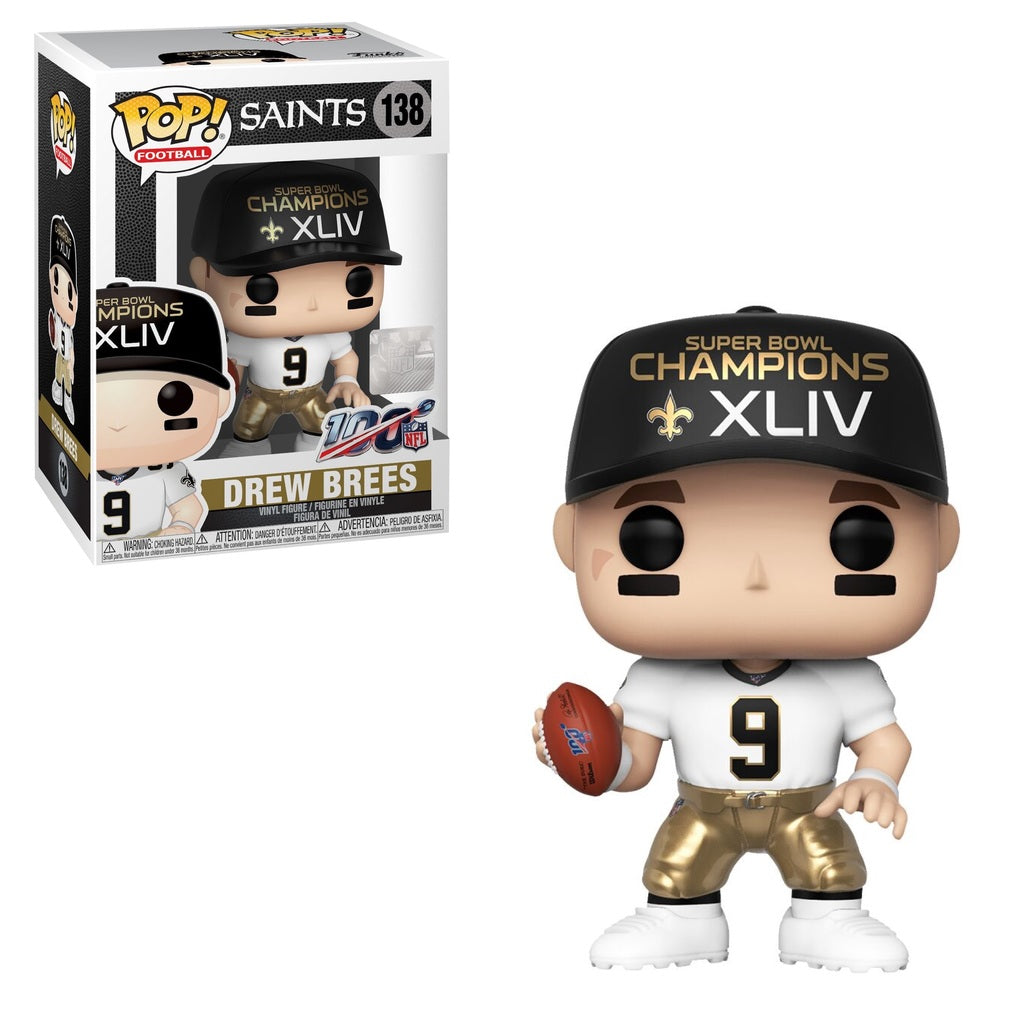 NFL Pop! Vinyl Figure Drew Brees (Super Bowl XLIV) [New Orleans Saints] [138]