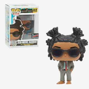Artists Pop! Vinyl Figure Jean-Michel Basquiat (NYCC 2019 Exclusive) [02]