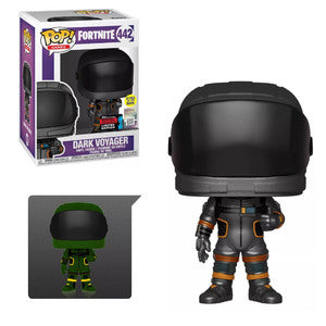 Fortnite Pop! Vinyl Figure Dark Voyager (Glow in the Dark) (Fall 2019 Exclusive) [442]