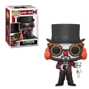 La Casa De Papel Pop! Vinyl Figure El Professor [915]