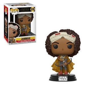 Star Wars Rise of Skywalker Pop! Vinyl Figure Jannah [315]