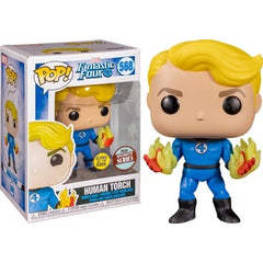 Fantastic Four Pop! Vinyl Figure Human Torch (Glow in The Dark) [568]