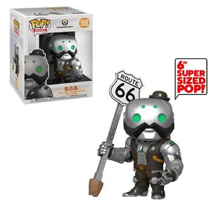 "Overwatch Pop! Vinyl Figure B.O.B. 6"" [558] - Fugitive Toys"