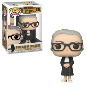 American History Pop! Vinyl Figure Ruth Bader Ginsburg [45] - Fugitive Toys