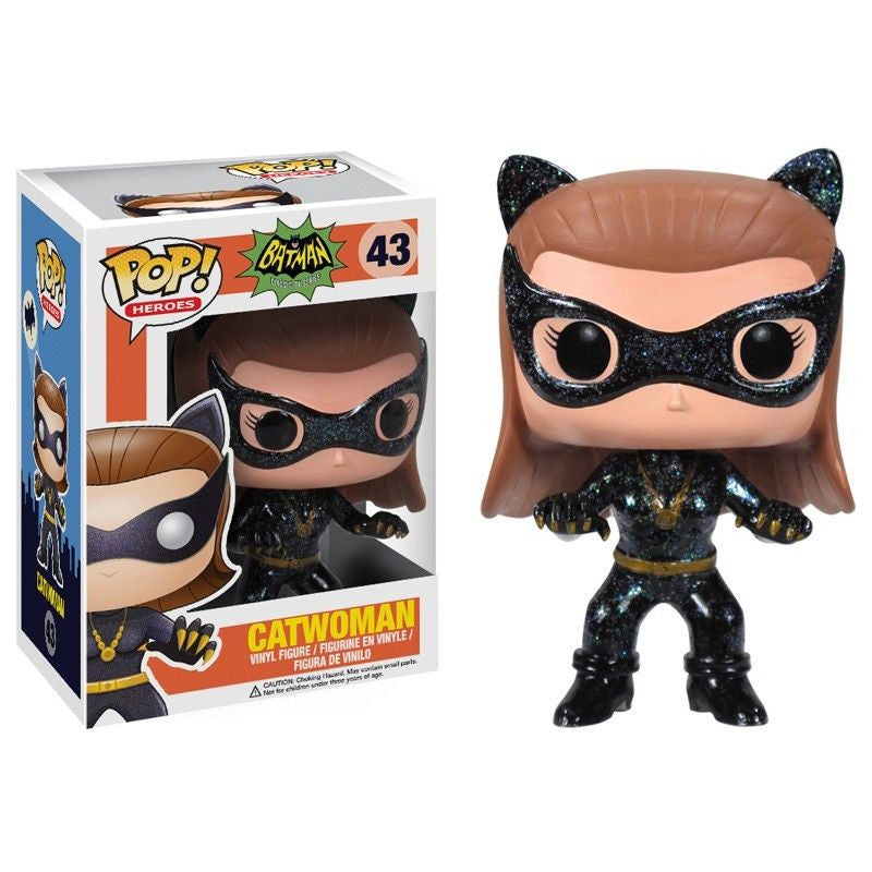 1960's Classic Batman Pop! Vinyl Figure Catwoman 1966 - Fugitive Toys