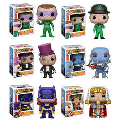[Preorder] 1960's Classic Batman Pop! Vinyl Figures [Set of 6]