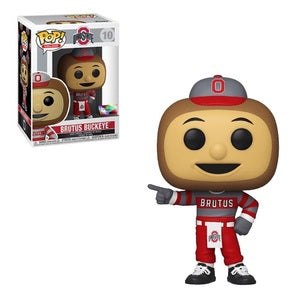 College Pop! Vinyl Figure Brutus Buckeye [Ohio State] [10] - Fugitive Toys