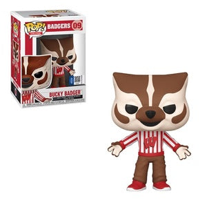 College Pop! Vinyl Figure Bucky Badger [09]