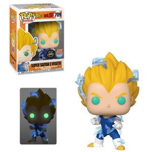 Dragon Ball Z Pop! Vinyl Figure Super Saiyan 2 Vegeta (Glow In The Dark) (Chase) [709]