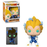 Dragon Ball Z Pop! Vinyl Figure Super Saiyan 2 Vegeta (Glow In The Dark) (Chase) [709] - Fugitive Toys