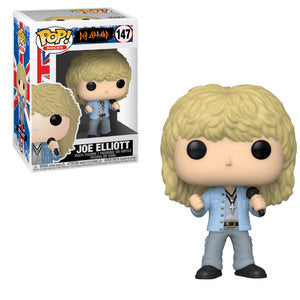 Def Leppard Pop! Vinyl Figure Joe Elliott [147] - Fugitive Toys