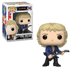 Def Leppard Pop! Vinyl Figure Phil Collen [150] - Fugitive Toys