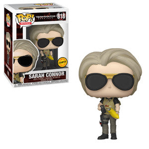 Terminator: Dark Fate Pop! Vinyl Figure Sarah Connor (Cellphone) (Chase) [818] - Fugitive Toys
