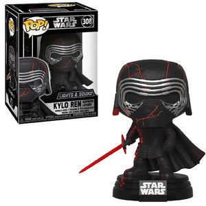 Star Wars Pop! Vinyl Figure Kylo Ren Supreme Leader (Lights & Sound) [308]