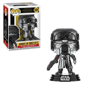 Star Wars Pop! Vinyl Figure Knight of Ren (Blaster Rifle) (Hematite Chrome) [331]