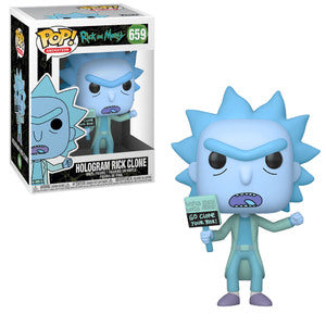 Rick and Morty Pop! Vinyl Figure Hologram Rick Clone [659]