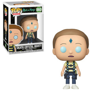 Rick and Morty Pop! Vinyl Figure Death Crystal Morty [660] - Fugitive Toys