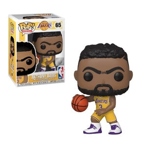 NBA Pop! Vinyl Figure Anthony Davis (Los Angeles Lakers) [65] - Fugitive Toys