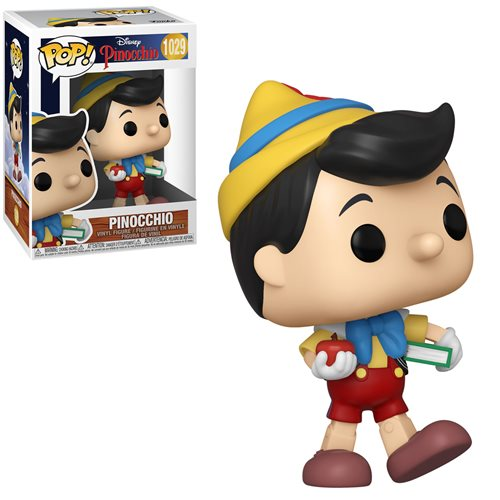 Disney Pinocchio Pop! Vinyl Figure School Bound Pinocchio [1029]