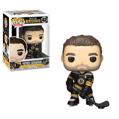 NHL Pop! Vinyl Figure Patrice Bergeron [Boston Bruins] [42] - Fugitive Toys