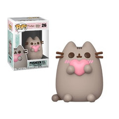 Pusheen Pop! Vinyl Figure Pusheen with Heart [26] - Fugitive Toys