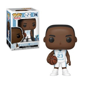 NBA Pop! Vinyl Figure Michael Jordan (UNC White) [74] - Fugitive Toys