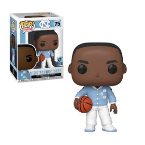 NBA Pop! Vinyl Figure Michael Jordan (UNC Warm Ups) [75]