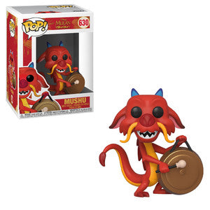 Mulan Pop! Vinyl Figure Mushu (with Gong) [630]