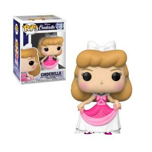 Cinderella Pop! Vinyl Figure Cinderella (Pink Dress) [738]
